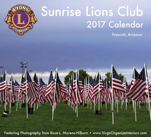 Sunrise Lions Calendar 2017